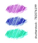 colorful hand drawn set with... | Shutterstock .eps vector #782076199