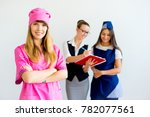 people of different professions | Shutterstock . vector #782077561