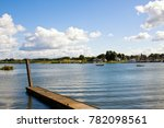 beautiful morning landscapes at ... | Shutterstock . vector #782098561