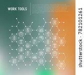 work tools concept in... | Shutterstock .eps vector #782101261