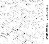 grunge black and white pattern. ... | Shutterstock . vector #782106811