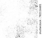 grunge black and white pattern. ... | Shutterstock . vector #782116681