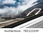 highland road to daocheng  china | Shutterstock . vector #782122339