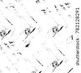 grunge black and white pattern. ... | Shutterstock . vector #782128291
