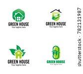 green house logo vector | Shutterstock .eps vector #782131987