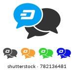 dash webinar icon. vector... | Shutterstock .eps vector #782136481