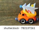 Toy Truck Carrying Hand Made...