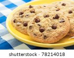 homemade  chocolate chip... | Shutterstock . vector #78214018