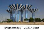 kuwait   circa march 2017  blue ... | Shutterstock . vector #782146585