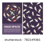 space objects  symbols and... | Shutterstock .eps vector #782149381