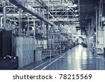 toned shot of industrial... | Shutterstock . vector #78215569
