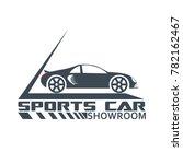 sports car dealer logo  icon ... | Shutterstock .eps vector #782162467