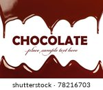 dark sweet tasty chocolate... | Shutterstock . vector #78216703