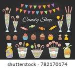 vector  illustration of candy...   Shutterstock .eps vector #782170174
