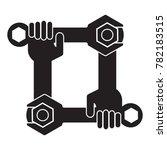 autofix tech frame | Shutterstock .eps vector #782183515