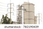 industrial building  the dust...   Shutterstock . vector #782190439
