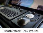 vessel computer control | Shutterstock . vector #782196721