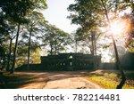 entrance to ancient preah khan... | Shutterstock . vector #782214481