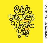 typography   hand lettering... | Shutterstock .eps vector #782231764