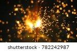 bengal lights background.... | Shutterstock . vector #782242987