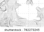 background contour topography ... | Shutterstock .eps vector #782273245