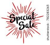 special sale vector trendy... | Shutterstock .eps vector #782283265