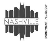 nashville tennessee usa skyline ...   Shutterstock .eps vector #782303959