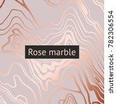 gold marble. vector decorative... | Shutterstock .eps vector #782306554
