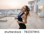 expressing positivity ... | Shutterstock . vector #782337841
