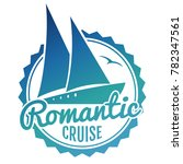 water cruise logo design  ... | Shutterstock .eps vector #782347561