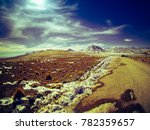 wide angle view of the ... | Shutterstock . vector #782359657