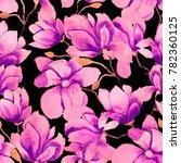 watercolor seamless pattern...   Shutterstock . vector #782360125