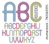 set of disco upper case english ...   Shutterstock . vector #782365591