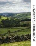 Dry Stone Walls And Fields In...