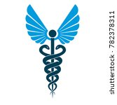 caduceus medical symbol ... | Shutterstock . vector #782378311