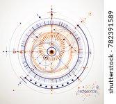 industrial and engineering... | Shutterstock . vector #782391589