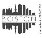 boston massachusetts usa...   Shutterstock .eps vector #782401255