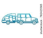 off road sport truck | Shutterstock .eps vector #782425585
