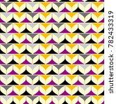 geometric background. seamless... | Shutterstock .eps vector #782433319