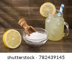 water  baking and lemon  ... | Shutterstock . vector #782439145