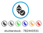 valid ethereum classic rounded... | Shutterstock .eps vector #782443531