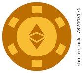 ethereum classic golden casino... | Shutterstock .eps vector #782448175