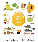 """vitamin e or tocopherol."" food ... 
