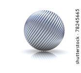 Basic Metal Sphere Background