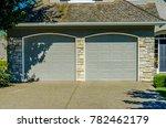 garage  garage doors and... | Shutterstock . vector #782462179