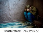 child abuse at home | Shutterstock . vector #782498977