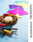 til gul or sweet sesame laddu... | Shutterstock . vector #782502391