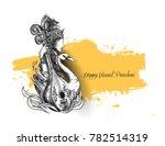 happy basant panchami  ... | Shutterstock .eps vector #782514319