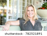 beautiful mature woman | Shutterstock . vector #782521891