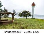 georgina point lighthouse in... | Shutterstock . vector #782531221